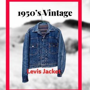 Levis RARE! 1950's vintage denim Jacket